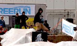 Mt.Fuji Snowboarders Festival ジブセッション・ハイライトムービー
