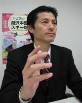 ホスピタリティパートナーズの田中章生代表取締役(写真:産経新聞)