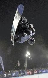 スキー競技で最年少の15歳で五輪代表となった平野(昨年12月、米コロラド州・カッパーマウンテンで)