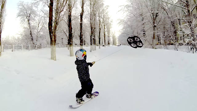 First Droneboarding