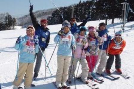 はじめてスキーキャンプ