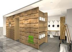 INHABITANT直営店、渋谷PARCO PART3
