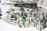 北京市は10日、この冬初めての積雪を観測した。