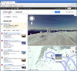 Google、米国/カナダのスキー場がストリートビューで滑走可能に
