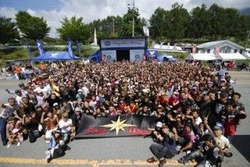 ヤマハ発動機のクルーザーバイク「DragStar」シリーズのオーナーが集結するイベント「第5回DragStarミーティング」が、北海道、長野、九州の3会場で開催され、DragStar1400台、総勢2200名が参加した。