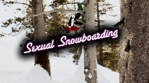 Sexual snowboarding