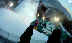 Mark McMorrisのダブルコーク1260をヘッドカムで体験 コースチェック /Air&Style