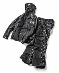 HIGHLAND JACKET&PANTS SETUP/価格:133,200円(税込)/展開カラー:ブラック/展開サイズ:XS、S、M、L