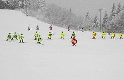 尾花沢・花笠高原スキー場がオープン