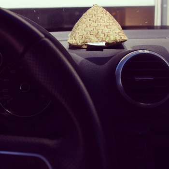 CRISPYと車