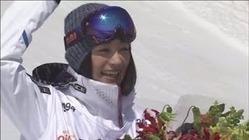 引退の上村愛子さん、地元スキー場でファンに別れ