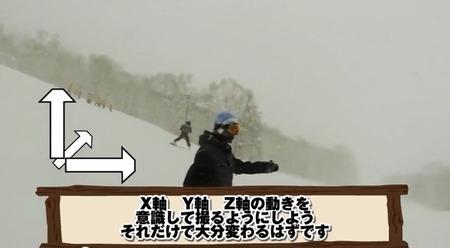 スノーボードをカメラで追い撮りするハウツー