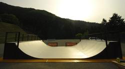 スケートランプ。5月23日OPEN!利用料は1日1,000円です