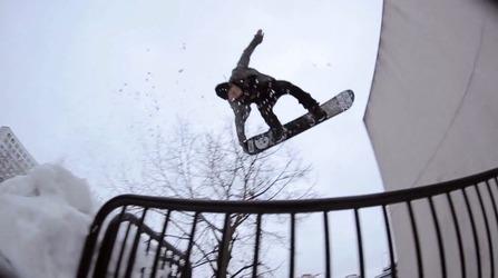 BRENDAN GERARDのスノーボードトリック画像