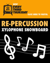 "【SIGNAL】Every Third Thursday - vol.10 ""RE‐PERCUSSION XYLOPHONE SNOWBOARD"""
