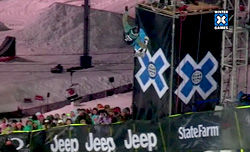 Kelly Clarkが優勝! /Winter X Games 15 SuperPipe Women's Final
