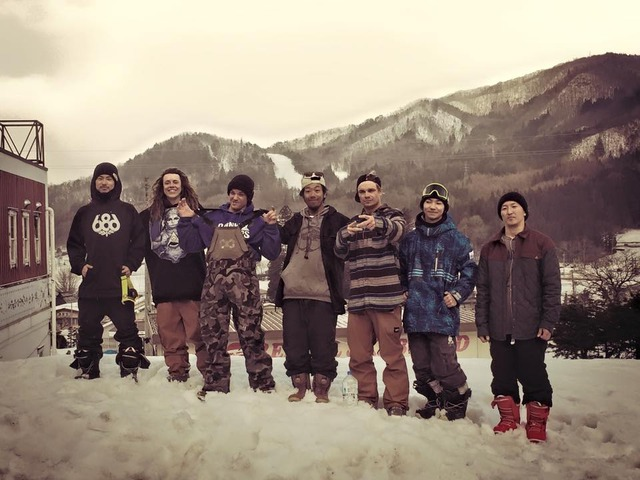 FLUX TEAM in HAKUBA