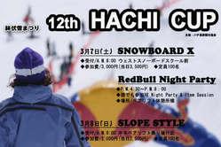 鉢伏雪まつり☆12th Hachi Cup☆開催