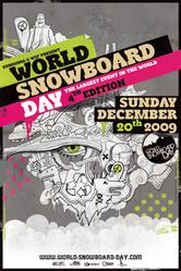 12月20日 WORLD SNOWBOARD DAY 2009 by BURTON 開催!