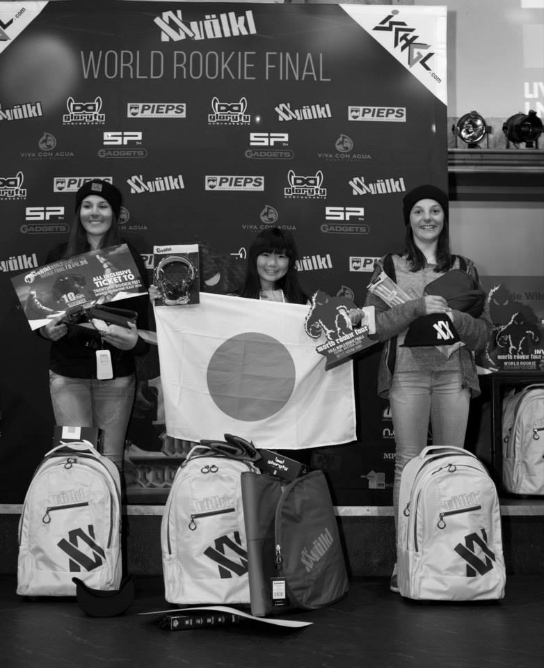 Grom girls podium - pic by Gustav Ohlsson
