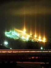 ライトピラーをカメラに /ロックバレースキー場