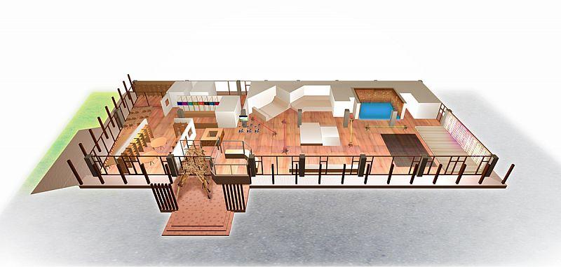 Channel Square 福島インドアパークプロジェクト 施設イメージ