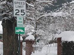 Reno Street Sign