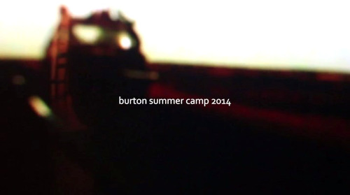 burton summer camp 2014-1