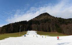 ドイツ南部・ルーポルディング近郊のスキー場