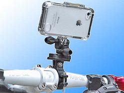 上海問屋、スポーツをしながら動画撮影できるiPhone固定用マウント2種