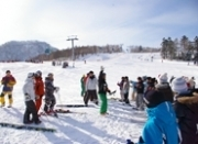 スーパースキー学習での様子