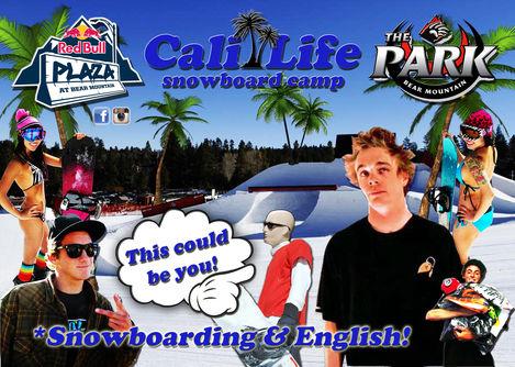 Cali Life Snowboard Camp