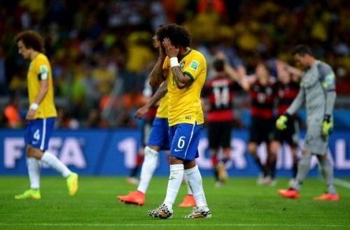 ブラジル敗退