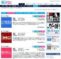 「ゲレコン」公式サイト画面キャプチャー