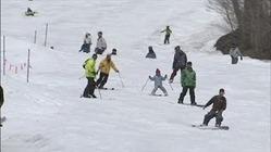 GW2日目、春スキーにぎわう 群馬・沼田市