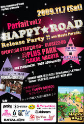 HAPPY★ROAD Release Party!! with Movie Parade♪」