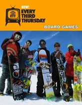 ボードゲームのスノーボード /Every Third Thursday