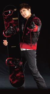 GACKT × kissmark 共同企画スノーボード商品 「 Rouge et Noir 」