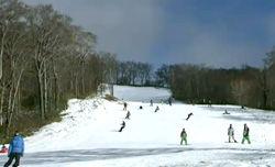 お待ちかね 群馬・沼田市のスキー場が滑走可能に