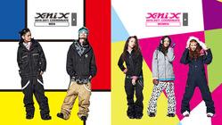 2010-2011バージョンの新作、『X-niX』ウエアコーディネートがwebにてアップ!