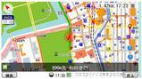 GPSナビ画面(レスポンス)
