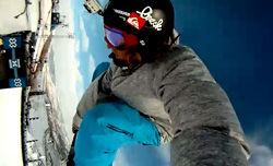 Eric Willettのテストランを「GoPro HD カメラ」で撮影してみた /Winter X Games 15 Slopestyle