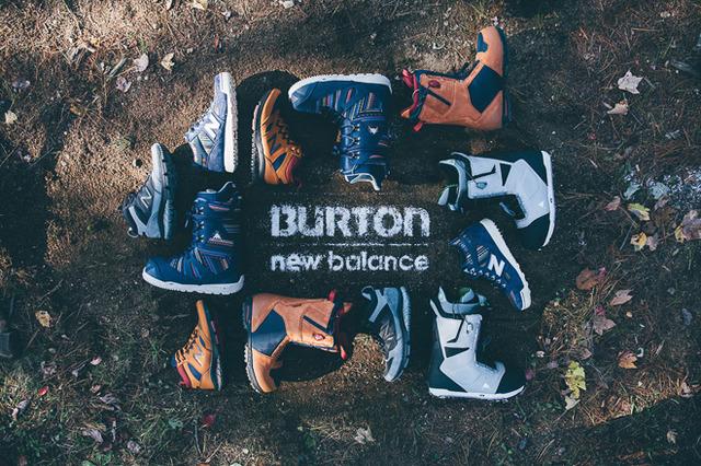 Burton X New Balance