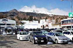 おんたけスキー場 「村営」で営業開始