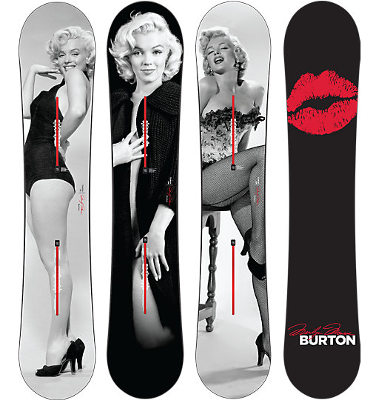 CustomMarilynSnowboard