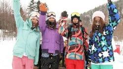 2月26、27日開催!BRIGHTA + SNOW SWEET LIFE コラボ フリーライディング ガールズキャンプ キロロで開催!