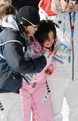 スノーボード 今井メロ、初五輪は2度転倒で終わる