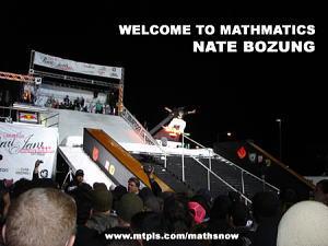 ネイト・ボーザンがmathmaticsチームに加入!
