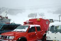 7人が行方不明になった恐羅漢スキー場=広島県安芸太田町横川の恐羅漢スキー場で2008年2月4日午前10時49分、井上梢撮影