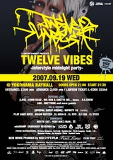 TWELVE VIBES -Inter Style Mid Night Party-